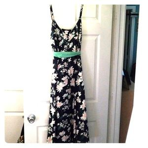 Joe Browns Midi length Navy Floral Dress